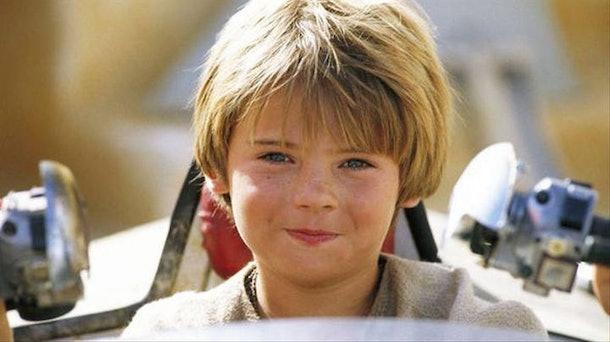 Anakin Skywalker in The Phantom Menace