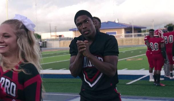 La'Darius Marshall is a stumbler on 'Cheer'