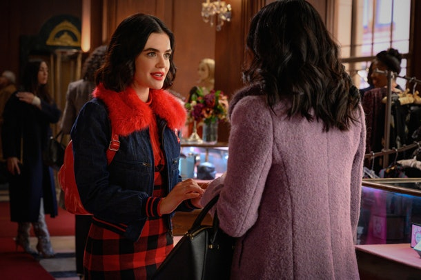 Veronica Lodge and Katy Keene meet in photos from the upcoming 'Riverdale' and 'Katy Keene' crossover episode.