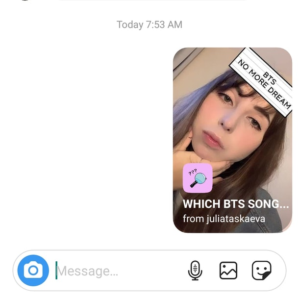 "Here's How To Get The ""Which BTS Song"" Instagram Story Filter to see which BTS song you are."