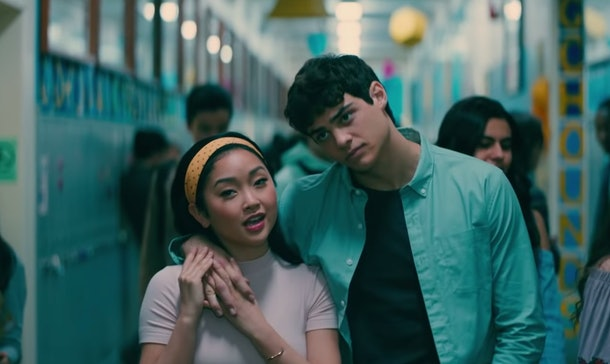 Lara Jean and Peter have just taken their relationship from pretend to officially official
