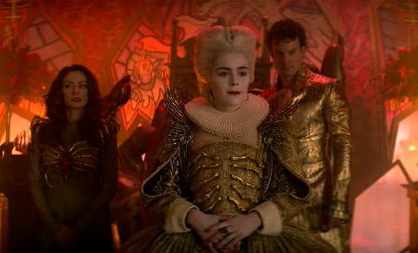 'Chilling Adventures of Sabrina' Part 3 ended with one version of Sabrina accepting the throne of Hell.
