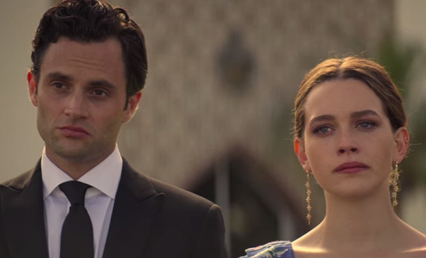 Joe and Love have a complicated relationship at the end of 'You' Season 2.
