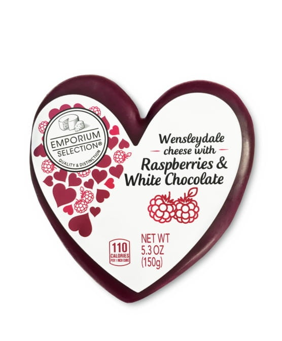 These January 2020 Aldi Finds Include Heart-Shaped cheeses, pickle popcorn, and mac and cheese pizza.