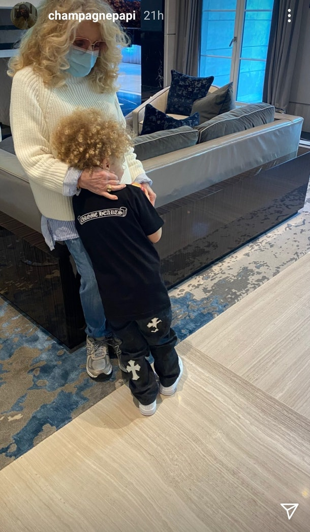 Drake's Instagram Of Adonis' Third Birthday Party Is So Adorable