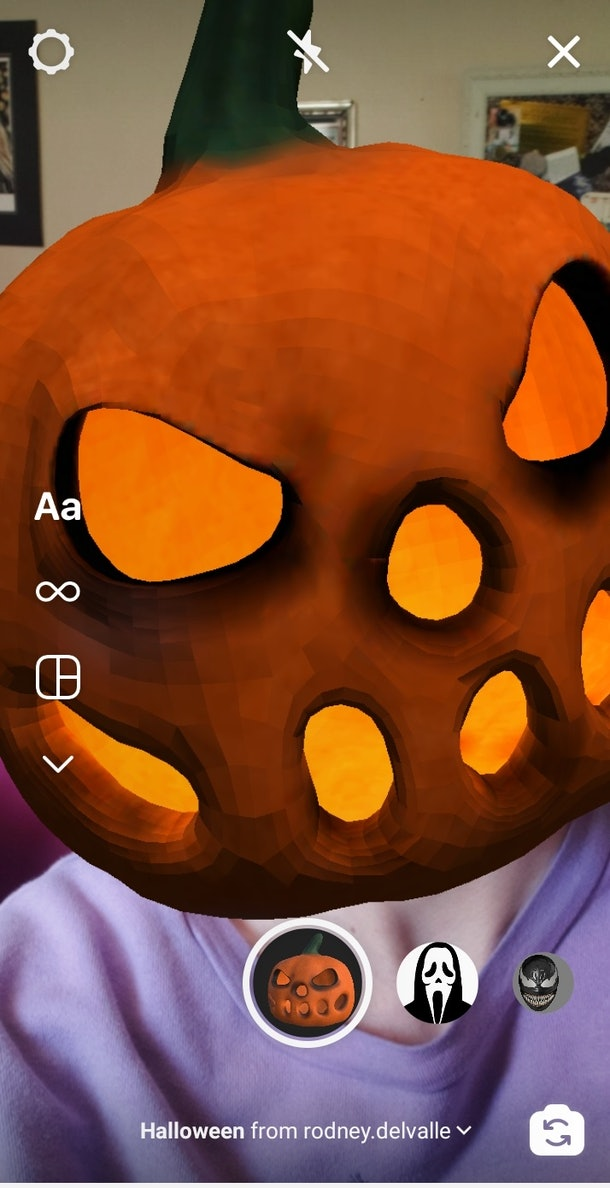 Instagram's Halloween filters include so many creepy looks you can use in your Stories.
