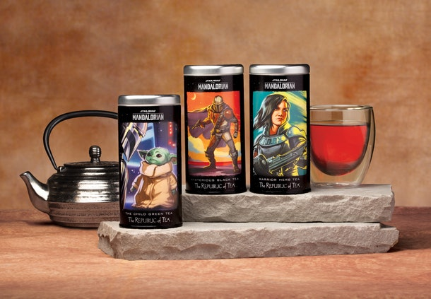 The 'Mandalorian' Republic Of Tea collection includes The Child Green Tea