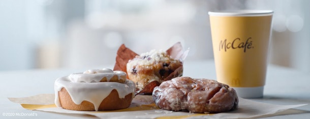Score a free McDonald's pastry on Election Day.
