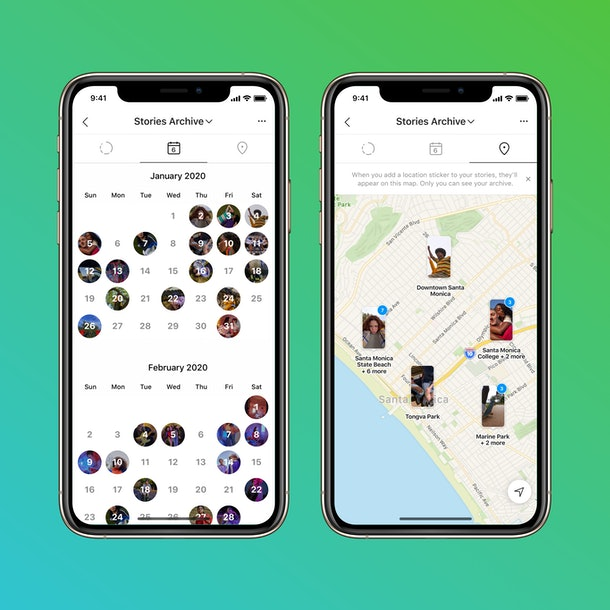 Instagram's new Stories Map & calendar will take you down memory lane