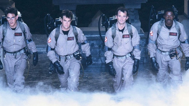 cast of 'Ghostbusters'