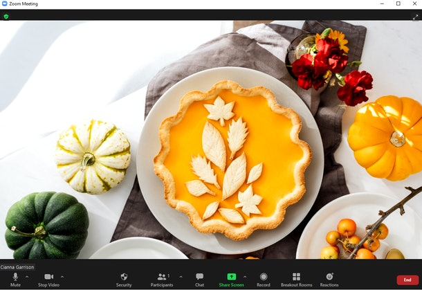 Here are the best Thanksgiving zoom backgrounds to make your calls festive.