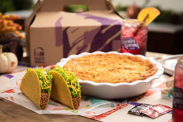 Taco Bell's 2020 Friendsgiving recipe for Crunchy Taco Shepherd's Pie is a take on a classic.