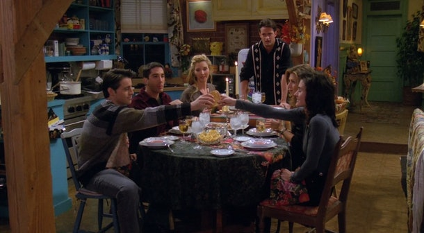 You can bring some of 'Friends' most iconic scenes to your virtual Thanksgiving celebration with these Zoom backgrounds.