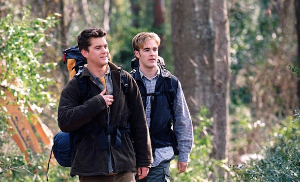 Dawson and Pacey's rivalry on 'Dawson's Creek' echoed some frustrations between James Van Der Beek and Joshua Jackson.