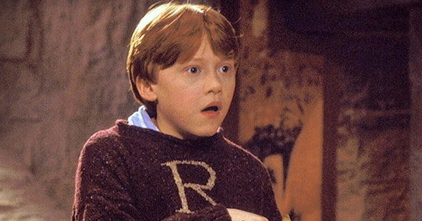 Ron Weasley's Christmas sweater gift in 'Harry Potter'