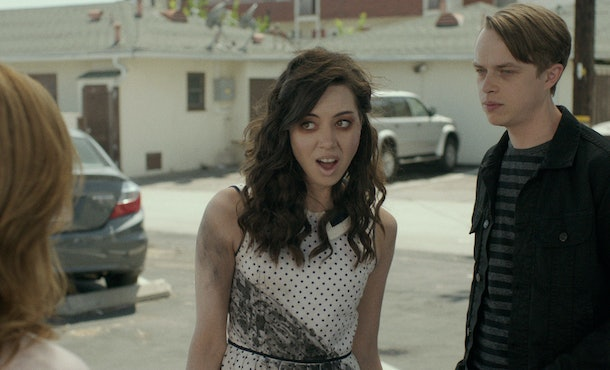 Aubrey Plaza starred in the zombie comedy 'Life After Beth.'