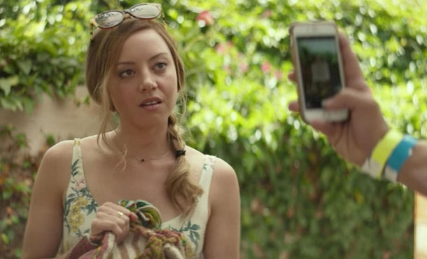Aubrey Plaza plays someone obsessed with social media in 'Ingrid Goes West.'