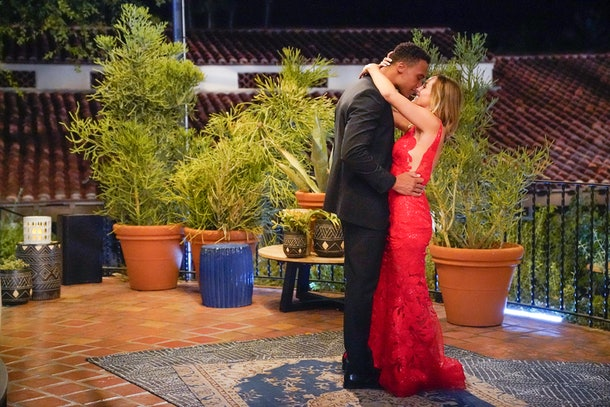 Dale and Clare on 'The Bachelorette'
