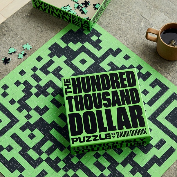 """You can win up to $100,000 with David Dobrik's """"The Hundred Thousand Dollar Puzzle."""""""