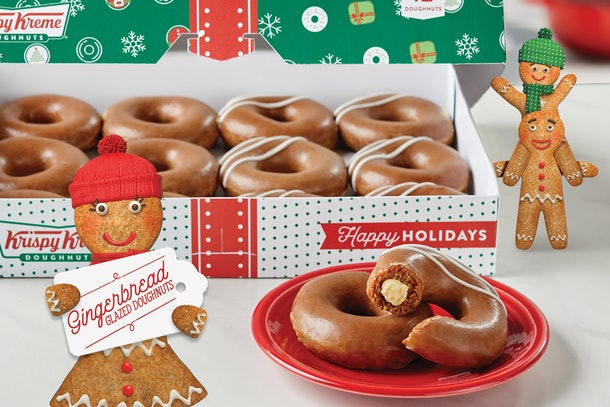 How long will Krispy Kreme's gingerbread donors be available in 2020? Here's what to know.