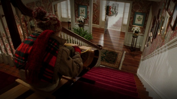 These 'Home Alone' Zoom backgrounds include the sledding scene.