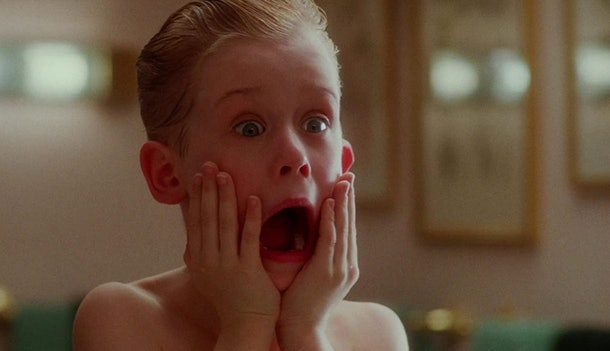 These 'Home Alone' Zoom backgrounds include the after shave scream.