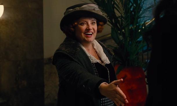 Lucy Davis as Etta Candy in Wonder Woman.
