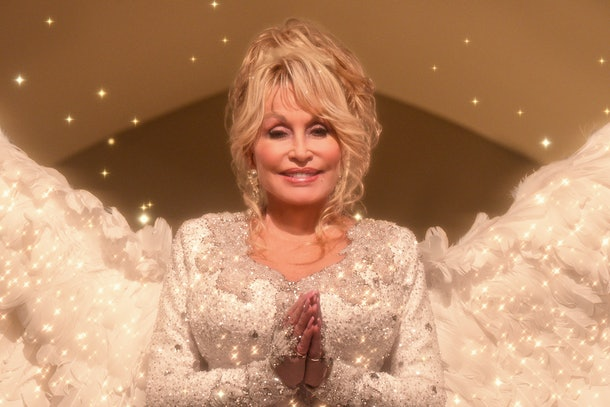 Dolly Parton in 'Christmas on the Square'