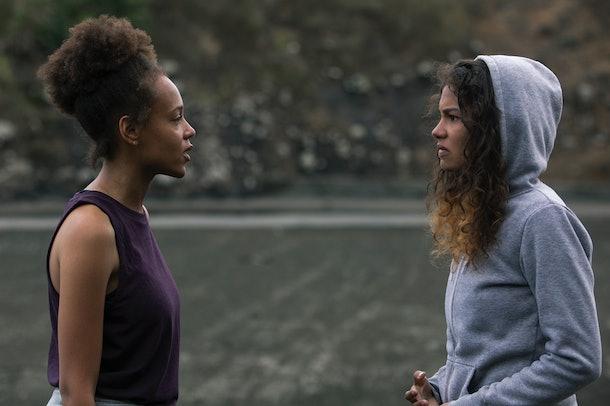 Nora and Rachel on Amazon's 'The Wilds'
