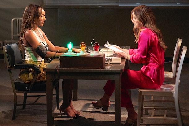 Tayshia and JoJo on 'The Bachelorette'