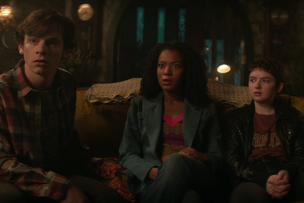 Ross Lynch, Jaz Sinclair, Lachlan Watson in 'Chilling Adventures of Sabrina' Part 4