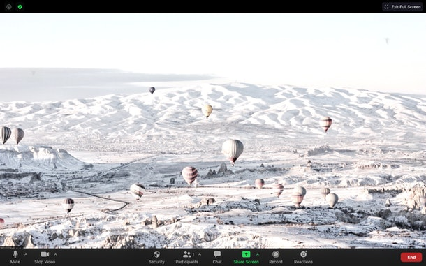 These winter Zoom backgrounds include so many bucket list destinations.