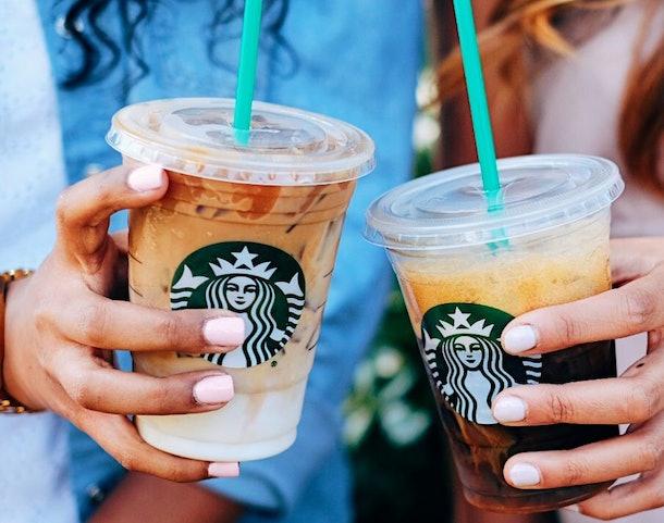 Starbucks' Valentine's Day 2020 deal includes a BOGO offer.