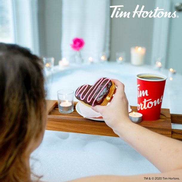 Tim Hortons' Valentine's Day 2020 doughnut deals mean you can score a free treat.