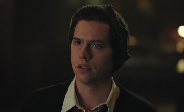 Jughead told Betty he had a plan before his death scene in 'Riverdale.'