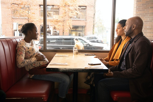 Eve, Regina, and Rome on 'A Million Little Things'