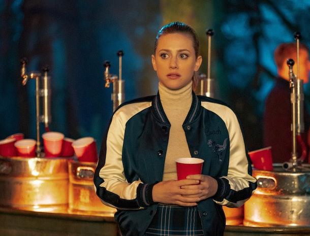 Betty in 'Riverdale'