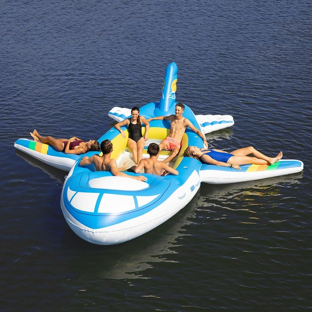 Sam's Club's 18-foot Plane Float will make you want to get out on the water all summer.