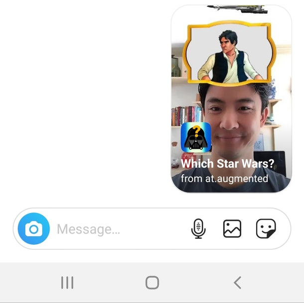 "Here's how to get the ""Star Wars"" Instagram Story filter so you can channel the force."