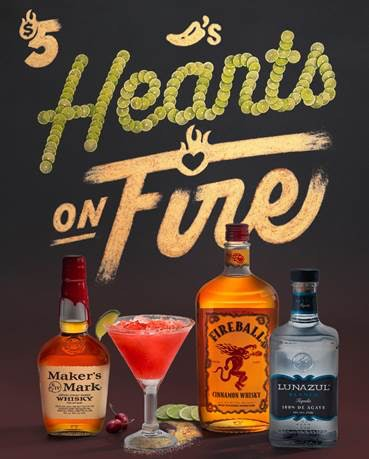 Chili's February Margarita Of The Month is the perfect Valentine' Day celebration.