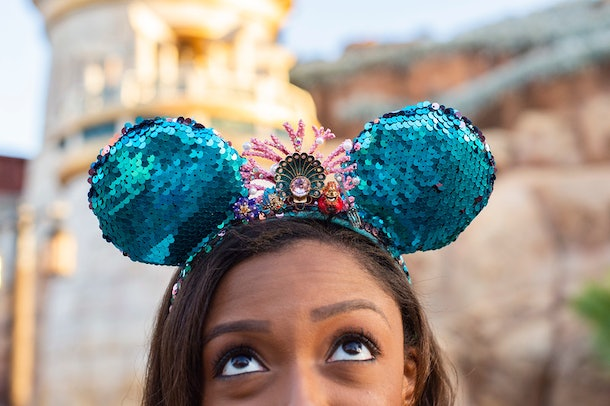 Here's where to get Disney's 'Little Mermaid' Minnie ears for the ultimate Ariel-inspired item.