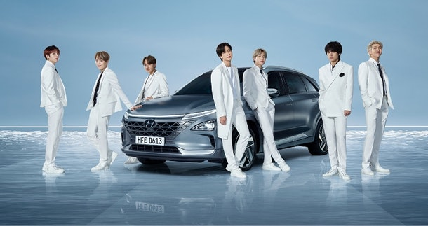 BTS' 2020 Hyundai ad has such a huge tie to nature.