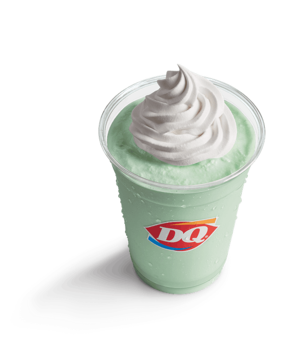 Dairy Queen's St. Patrick's Day 2020 Blizzard will also be joined by a minty shake.