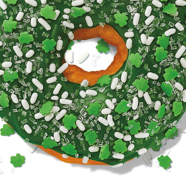 Dunkin's St. Patrick's Day 2020 Donut Is Super Festive