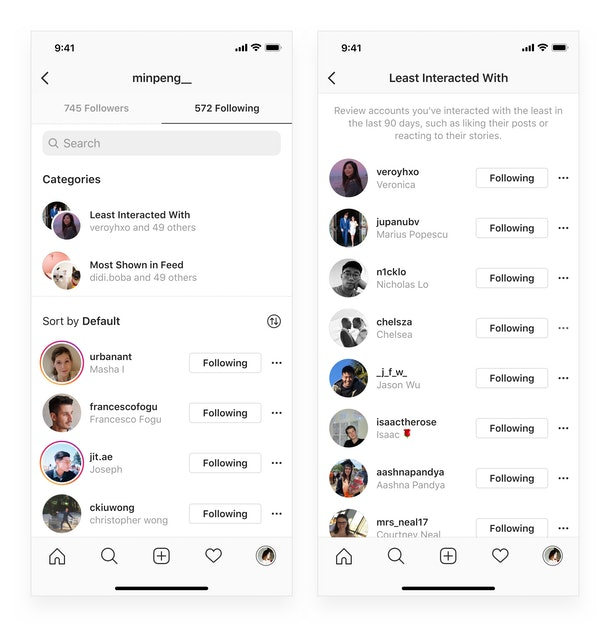 Instagram's new groups for accounts you follow will make it easier to navigate the app.