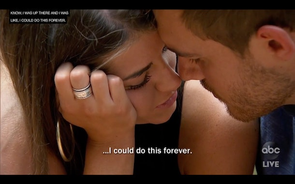 Madison's Hebrew ring on The Bachelor  included a verse from Song of Songs that's commonly used in Jewish weddings.