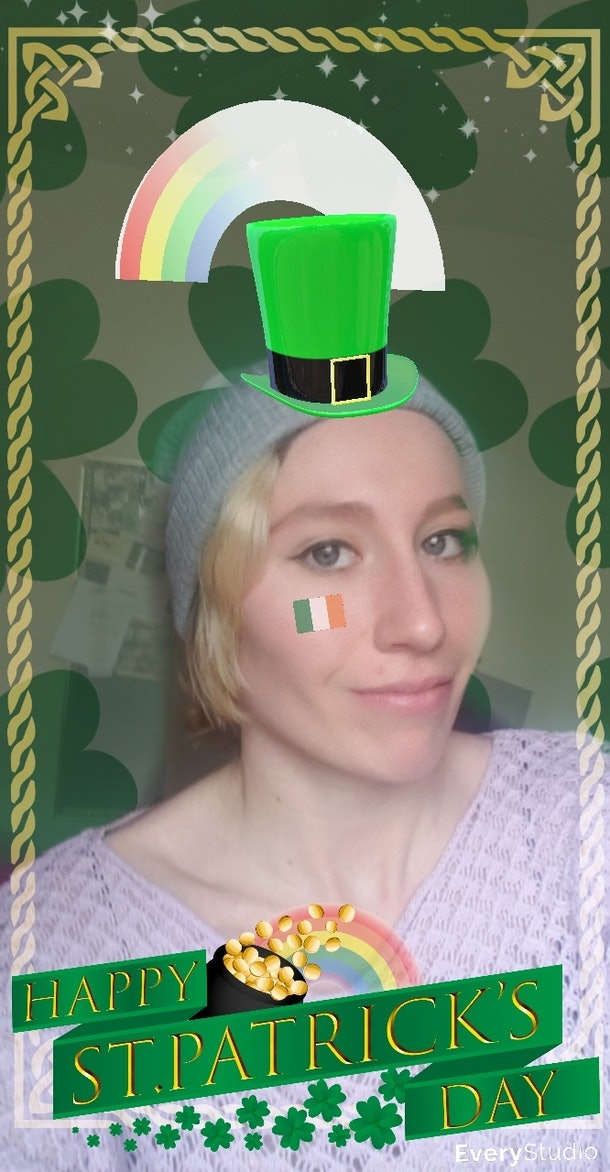 Get ready for St. Patrick's Day 2020 with these Snapchat Lenses.