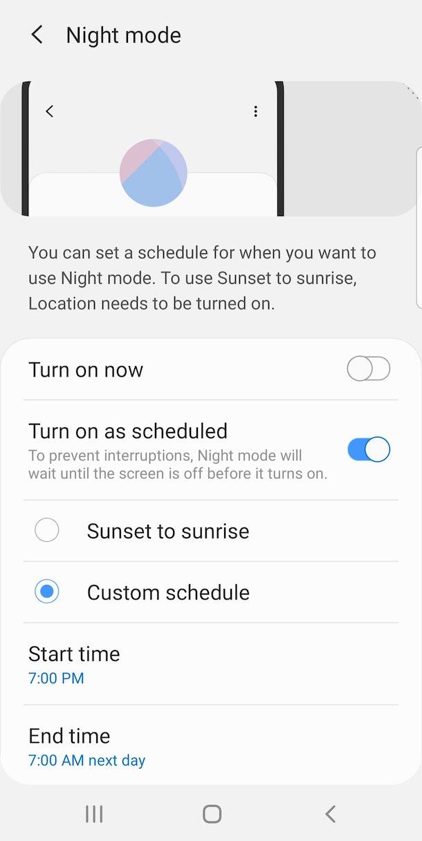 Instagram Dark Mode Android 9