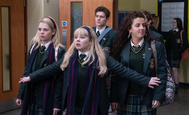 'Derry Girls' is an uplifting comedy series streaming on Netflix.