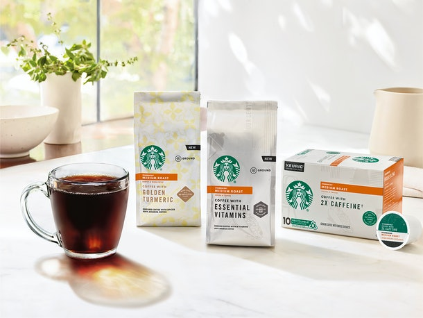 Starbucks' New Spring 2020 Drinks include at-home coffee products.